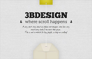 3bdesign - Where Scroll Happens