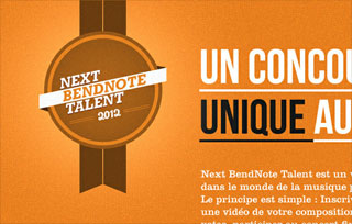 Next Bendnote Talent