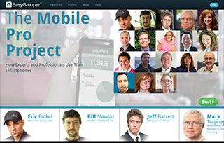The Mobile Pro Project from EasyGrouper